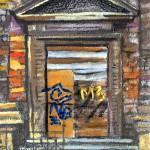 budapest hungary door building
