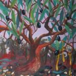 olive tree in catalunya spain olive oil